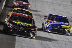Erik Jones, Furniture Row Racing Toyota, Kyle Busch, Joe Gibbs Racing Toyota