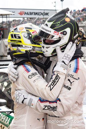 Ganador, Timo Glock, BMW Team RMG, BMW M4 DTM, tercero, Maxime Martin, BMW Team RBM, BMW M4 DTM