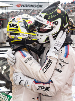 Race winner Timo Glock, BMW Team RMG, BMW M4 DTM, third place Maxime Martin, BMW Team RBM, BMW M4 DT