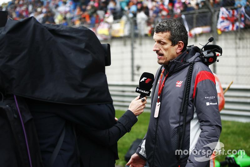 Startaufstellung: Günther Steiner, Teamchef, Haas F1 Team