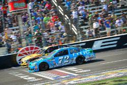 Cole Whitt, TriStar Motorsports Ford, Matt DiBenedetto, Go Fas Racing Ford