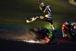 Choque de #35 Yamaha: Maxime Diard