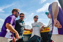 Sam Bird, DS Virgin Racing, Mitch Evans, Jaguar Racing, Nelson Piquet Jr., NEXTEV TCR Formula E Team