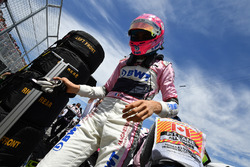Esteban Ocon, Force India F1 on the grid