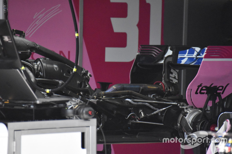 Force India VJM11 engine