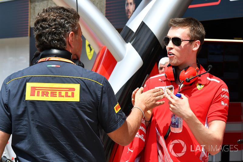 Данііл Квят, Ferrari