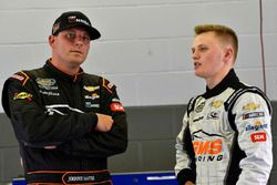Johnny Sauter, GMS Racing, Chevrolet Silverado ISM Connect and Justin Haley, GMS Racing, Chevrolet S