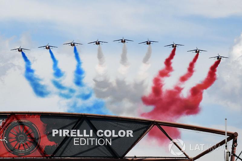 Esibizione della Patrouille de France