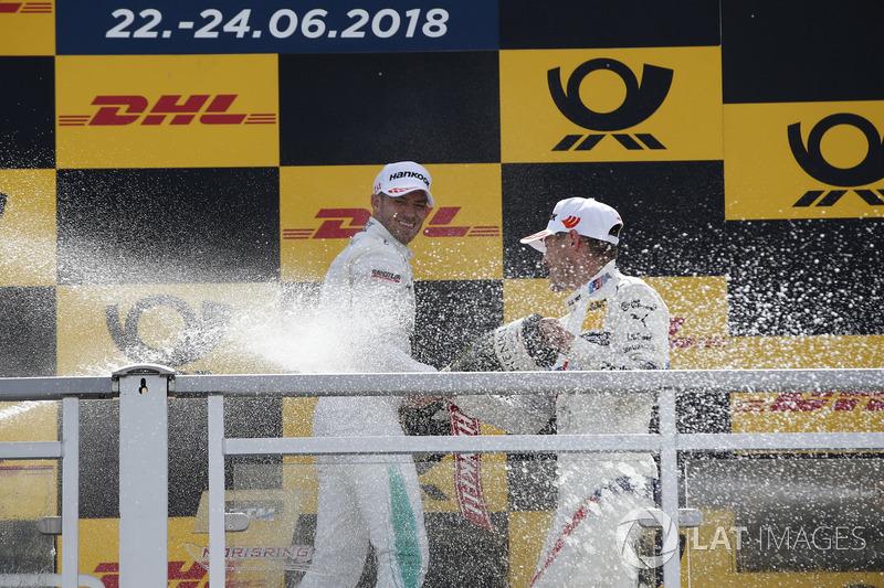 Podium: Marco Wittmann, BMW Team RMG, Edoardo Mortara, Mercedes-AMG Team HWA