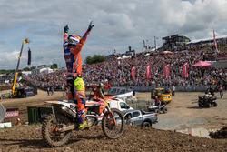 Jeffrey Herlings, KTM Factory Racing viert de overwinning