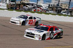 Kaz Grala, Fury Race Cars LLC, Ford Mustang NETTTS and Justin Haley, GMS Racing, Chevrolet Camaro FOE