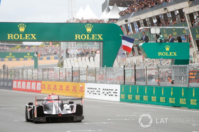 Rafael Nadal dio la salida en las pasadas 24 Horas de Le Mans