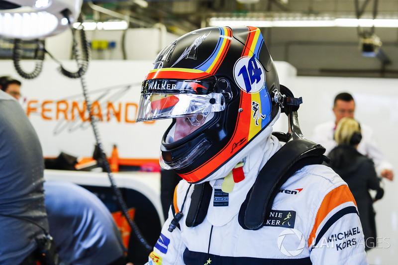Amerika - Fernando Alonso