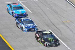 Kurt Busch, Stewart-Haas Racing Ford, Danica Patrick, Stewart-Haas Racing Ford y Aric Almirola, Rich