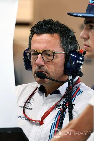 Luca Baldisserri, Williams