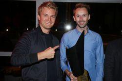 Nico Rosberg with René Rast, Audi Sport Team Rosberg