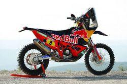 Bike of Toby Price, Red Bull KTM Factory Team