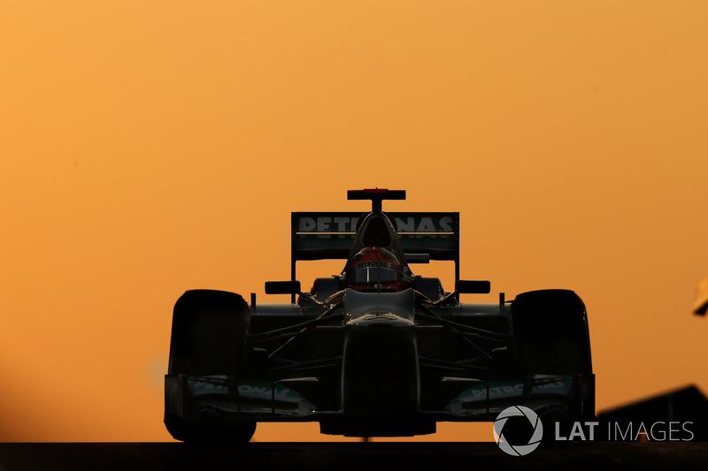 Михаэль Шумахер, Mercedes F1 W03