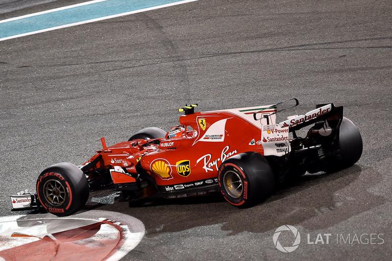 =7. Kimi Raikkonen, Ferrari (49 poin)