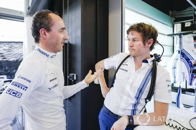 Robert Kubica, Williams, Rob Smedley, kepala divisi performa, Williams