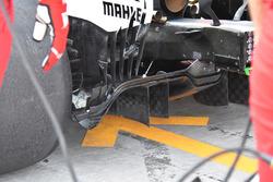 Ferrari SF70H diffuser detail