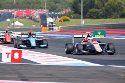 Simo Laaksonen, Campos Racing leads David Beckmann, Jenzer Motorsport