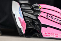 Force India VJM11 front wing detail