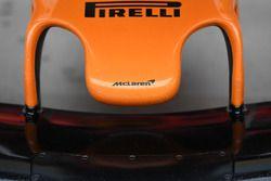 Detalle de nariz McLaren MCL33