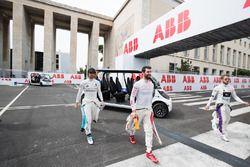 Sam Bird, DS Virgin Racing, Jose Maria Lopez, Dragon Racing, Nicolas Prost, Renault e.Dams