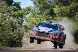 Hayden Paddon, Sebastian Marshall, Hyundai Motorsport Hyundai i20 Coupe WRC