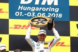 Podio: ganador de la carrera Marco Wittmann, BMW Team RMG