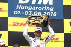 Podium: Race winner Marco Wittmann, BMW Team RMG