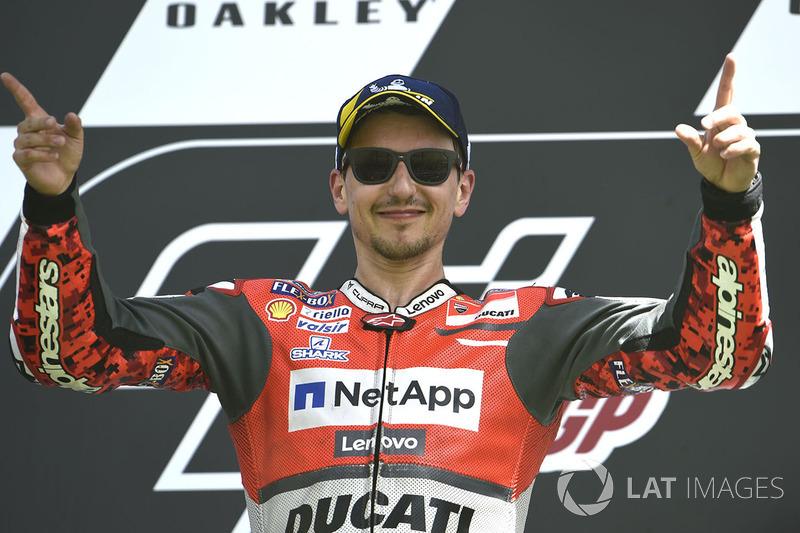 MotoGP Italia: Jorge Lorenzo, Ducati Team
