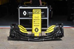 Detalle del alerón delantero Renault Sport F1 Team RS 18