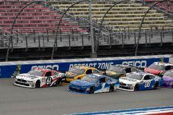 Kaz Grala, Fury Race Cars LLC, Ford Mustang NETTTS, Elliott Sadler, JR Motorsports, Chevrolet Camaro
