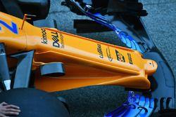 McLaren MCL33 nose detail