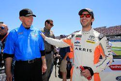 Daniel Suarez, Joe Gibbs Racing, Toyota Camry ARRIS, Joe Gibbs