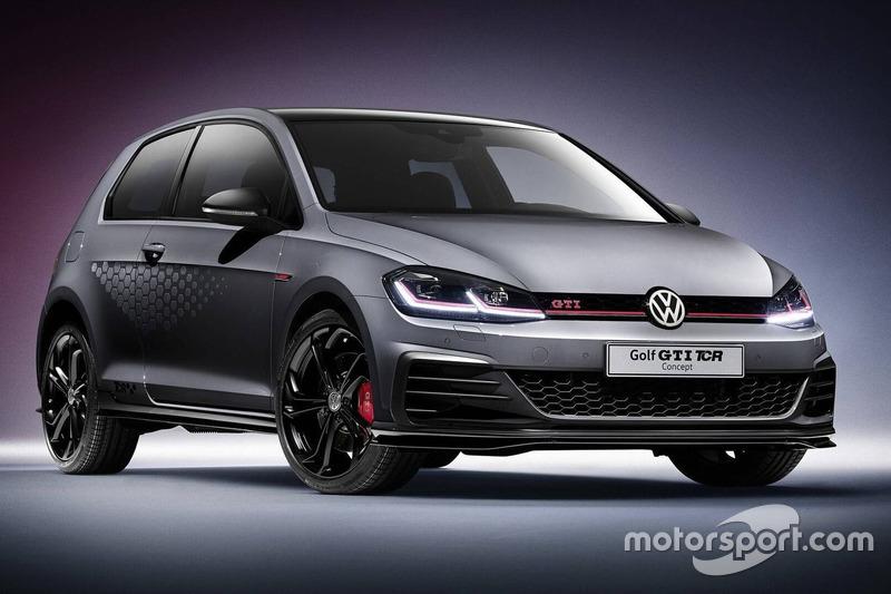 Volkswagen Golf GTI TCR концепт 2018