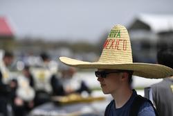 Fan celebrating Cinco de Mayo