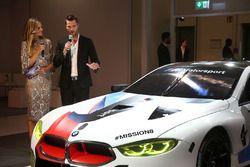 Eve Scheer, Martin Tocmzyk, BMW M8 GTE