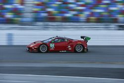 #64 Scuderia Corsa Ferrari 488 GT3: Bill Sweedler, Townsend Bell, Frankie Montecalvo, Sam Bird