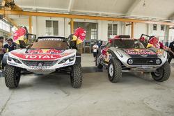 Sébastien Loeb, Peugeot Sport, Bryce Menzies, MINI X-Raid Team