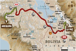 Етап 6: Арекіпа - Ла-Пас