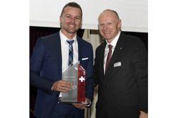 Marcel Fässler bei der ASS-Verleihung in Bern ausgezeichnet