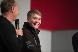 Terry Grant, stuntrijder, en Billy Monger