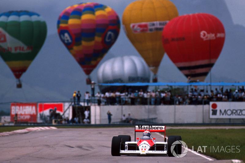Jacarepaguá - Alain Prost - 5 triunfos