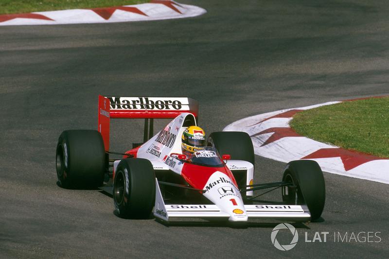 McLaren-Honda MP4/5 - 10 victorias