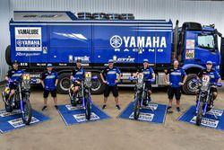 #7 Yamaha Official Rally Team: Franco Caimi, #4 Yamaha Official Rally Team: Adrien van Beveren, #23