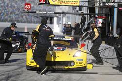 Антонио Гарсия, Ян Магнуссен, Майк Роккенфеллер, Corvette Racing, Chevrolet Corvette C7.R (№29)
