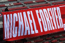Banner de fans para Michael Schumacher